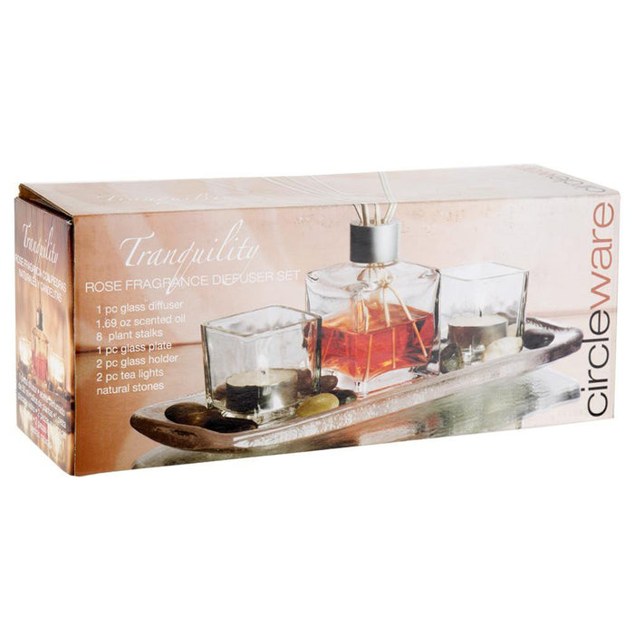 Fragrance Diffuser Set - Tranquillity Rose