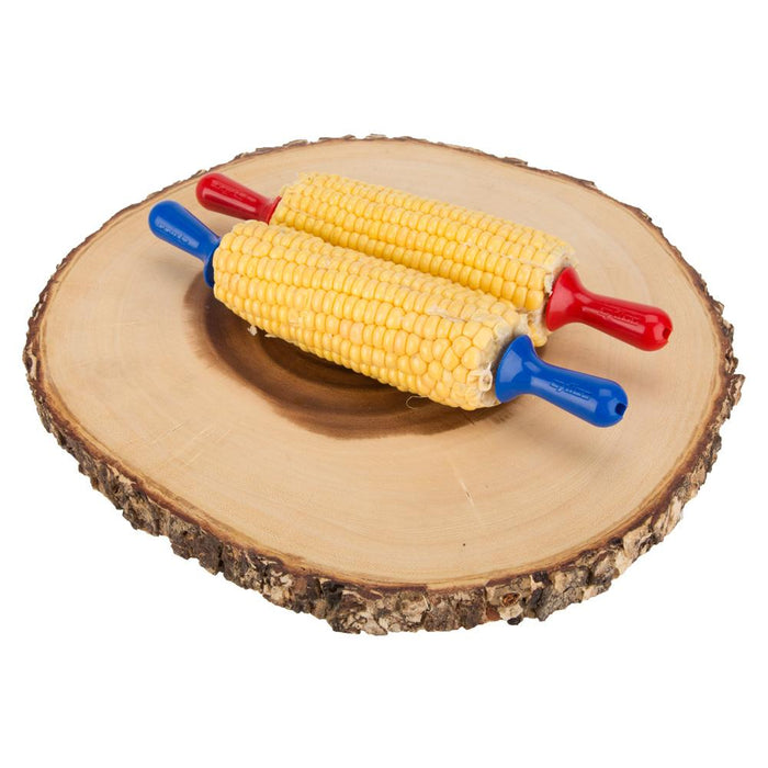 Zyliss Kitchen Interlocking Corn On The Cob Holders - Assorted Colours