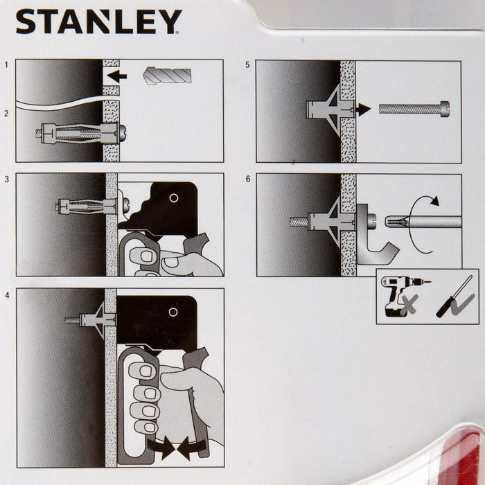 Stanley Anchor Assembly Tool & Metal Anchors