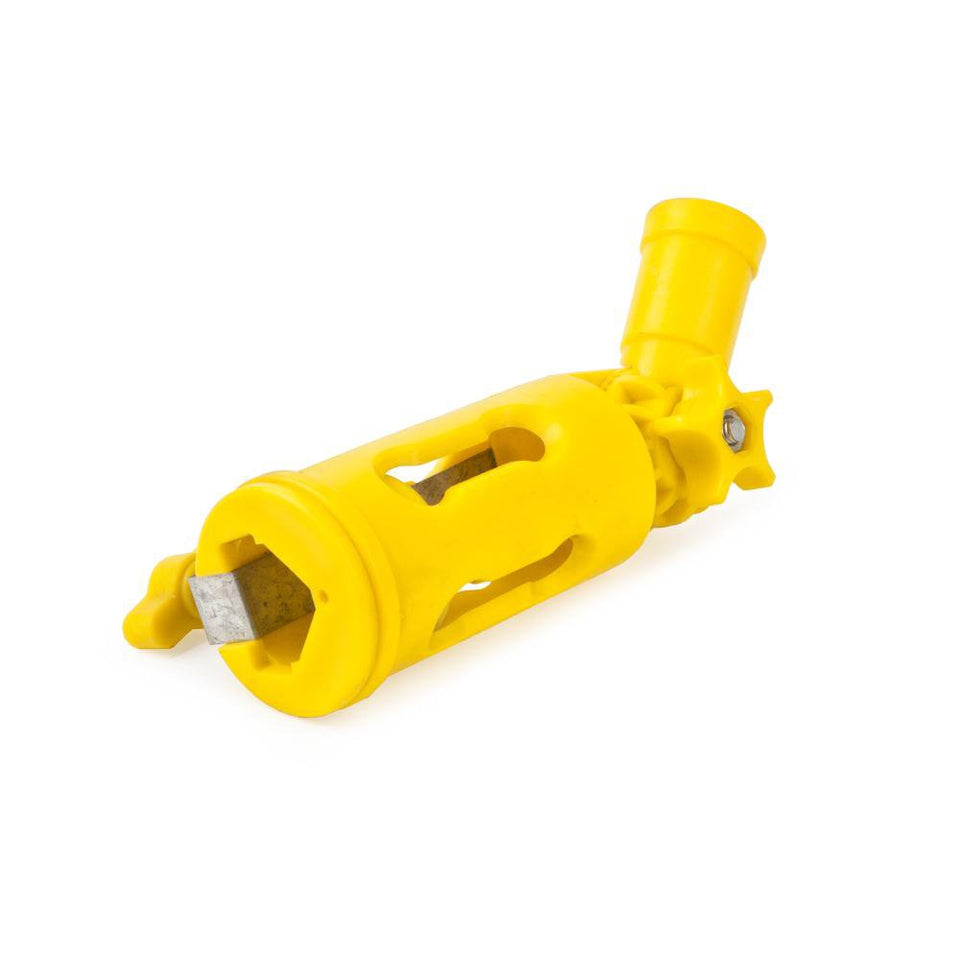 DIY & Tools - Multi Angle Extension Pole Tool Holder Yellow