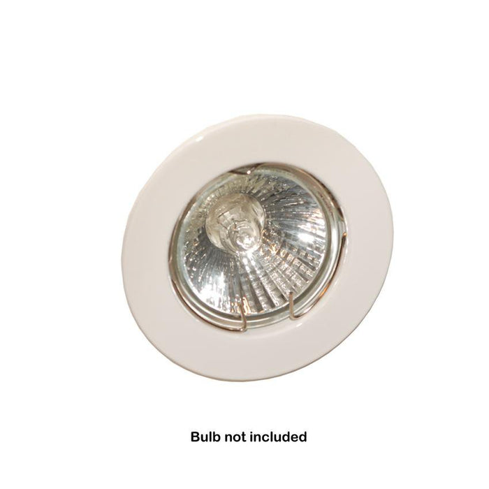 6x Newlec Fixed Downlighter Recessed Ceiling Spotlight 50W 12V - White