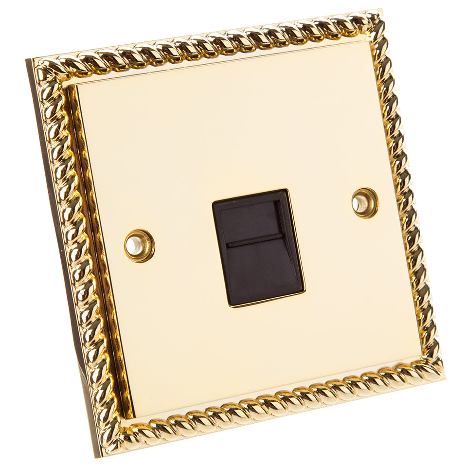 Philex Select Telephone Extension Socket - Georgian Gold