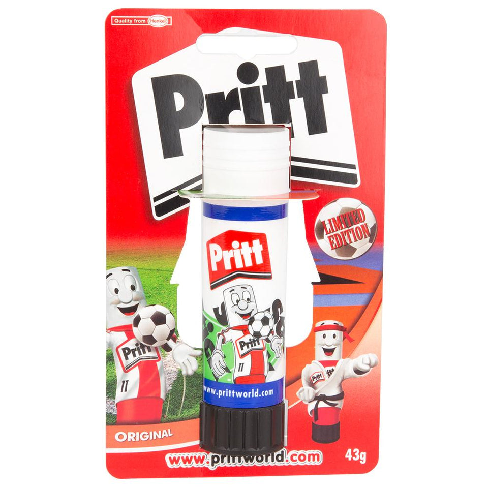 Pritt Glue Stick - Washable & Non Toxic - Office School Home - 43g