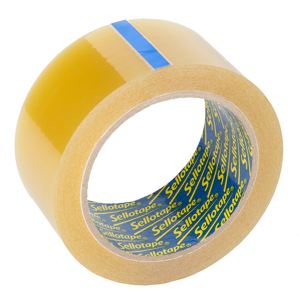 Sellotape Branded Original Packaging Sticky Tape Roll - 48mm x 66m