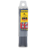 Irwin HSS Drill Bit - Set of 5 - 9mm