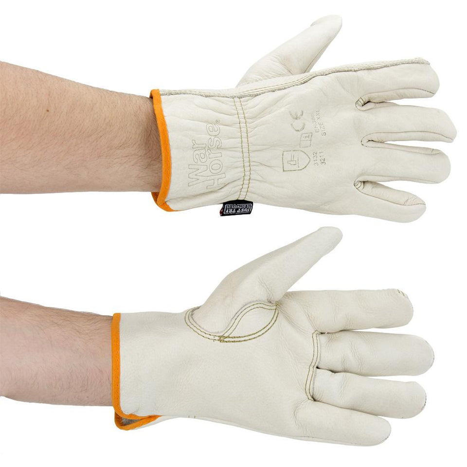 DIY & Tools - Safety Driver Work Gloves Cream XX Large