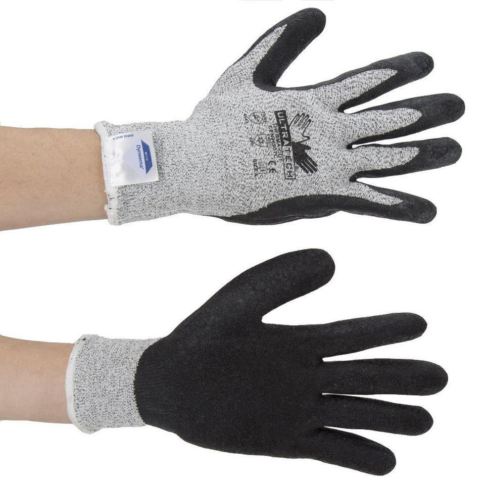 DIY & Tools - Ultra Therma Layer Work Gloves Black Large