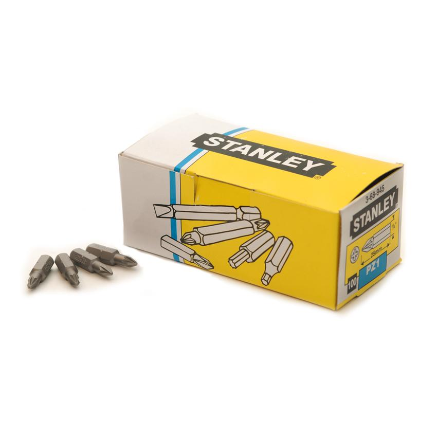 DIY & Tools - Stanley Screwdriver Drill Bit - Set of 100