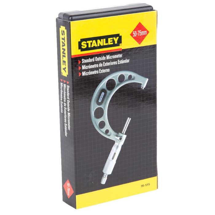 Stanley Outside Micrometer Precision Measuring Standard 50-75mm