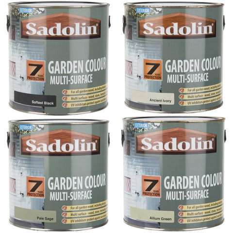 Sadolin Exterior Garden Colour Multi-Surface Woodstain 2.5L