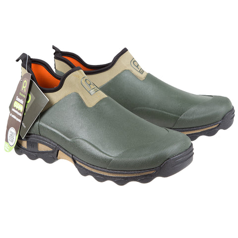Rouchette Unisex Slip-On Gardening Shoes - Green Outdoor Boots