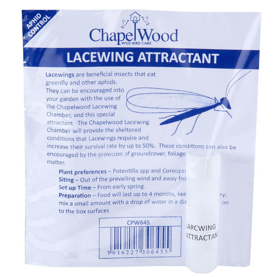 Gardening - ChapelWood Wild Bird Care - Aphid Control - Lacewing Attractant