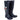 Town&Country Womens Festival Wellies Wellington Boots Navy Blue Size 4