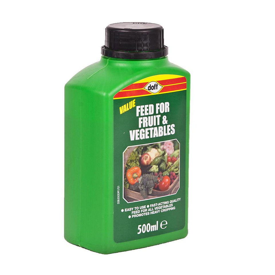 Doff Garden Fruit & Vegetable Feed Fertiliser - 500ml