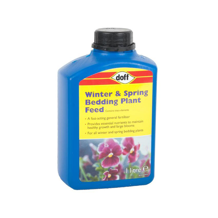 Gardening - Doff All-Purpose Liquid Fertiliser Winter & Spring Garden Plant Feed - 1L
