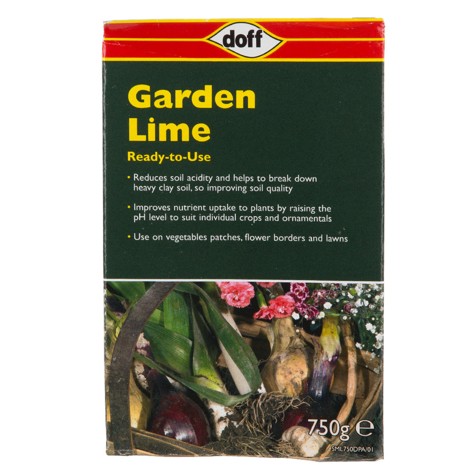Gardening - 1x Doff Garden Lime Soil Acidity Regulator 750g