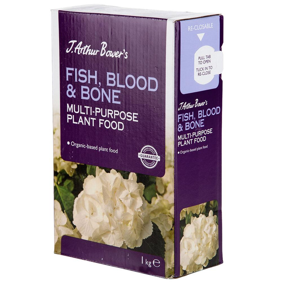 Gardening - 1x J Arthur Bowers Fish, Blood & Bone - Multi Purpose Plant Food - 1kg