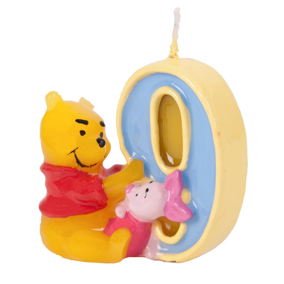 Disney 'Winnie The Pooh & Piglet' Birthday Candle Party Decoration- 9