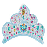 12x Amscan Self Adhesive Princess Wall Stickers- Tiara Diamante Charms