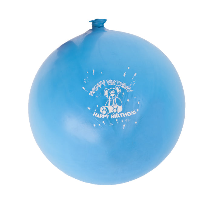30 x Amscan Latex Party Balloons - Happy Birthday Boy - Blue