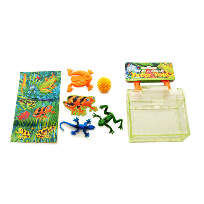 Frogs And Lizards Party Bag Fillers