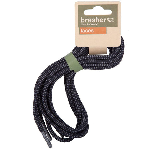 Brasher Walking Hiking Boot/Shoe Replacement Laces - Blue/Black 90cm