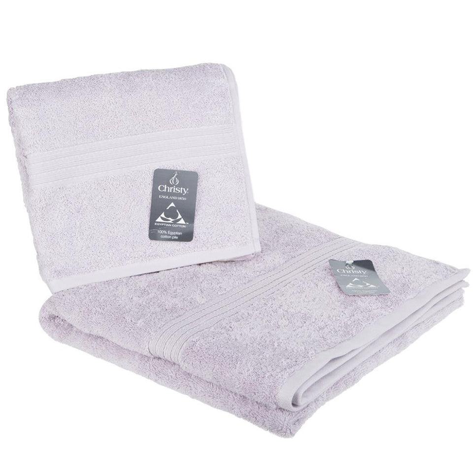 Textiles - Christy Luxury Cotton Bath & Hand Towels Purple