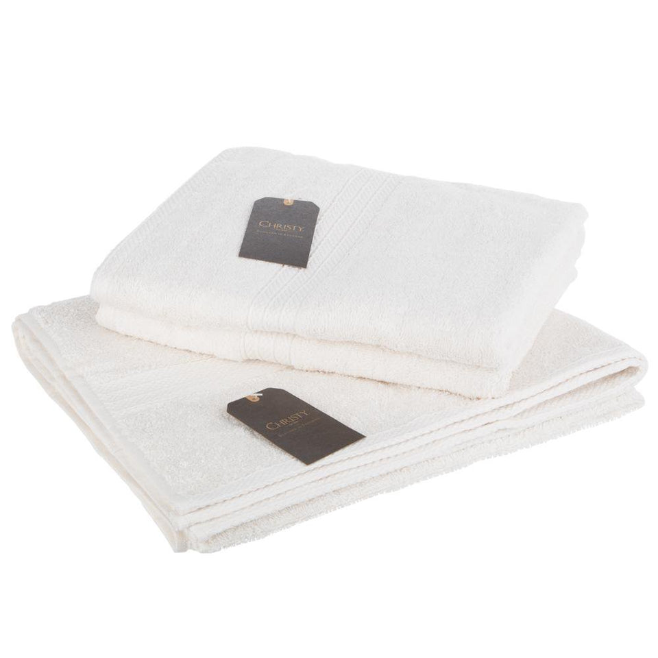 Textiles - Christy Luxury Bath & Hand Towel Georgia Cream