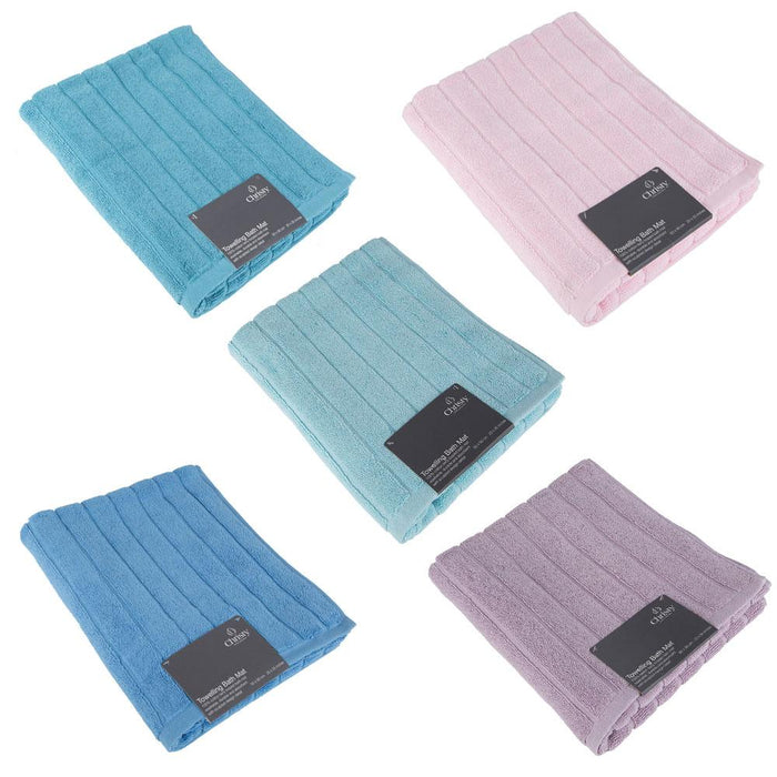 Christy 100% Cotton Bathroom Bath Mat - Various Colours