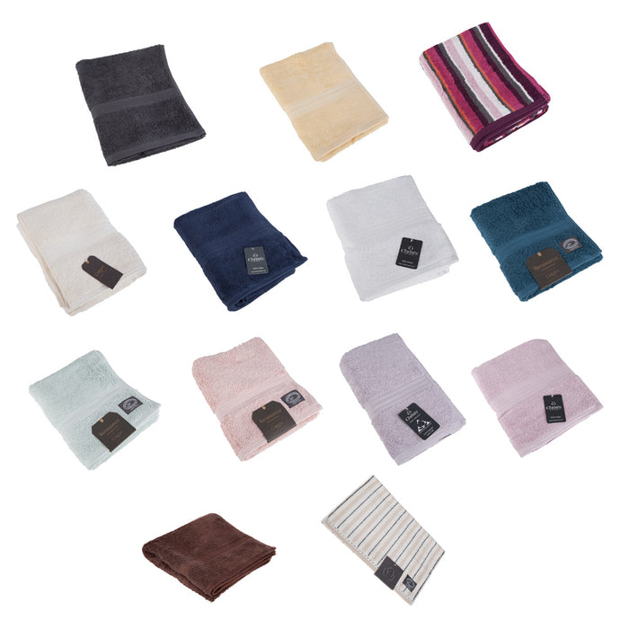 Christy Luxury Cotton Bathroom Hand & Guest Towels Various Colour & Sizes