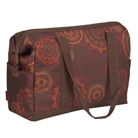 Thermos 18 Can Insulated Cooler Food/Drinks Picnic Bag Henna Brown
