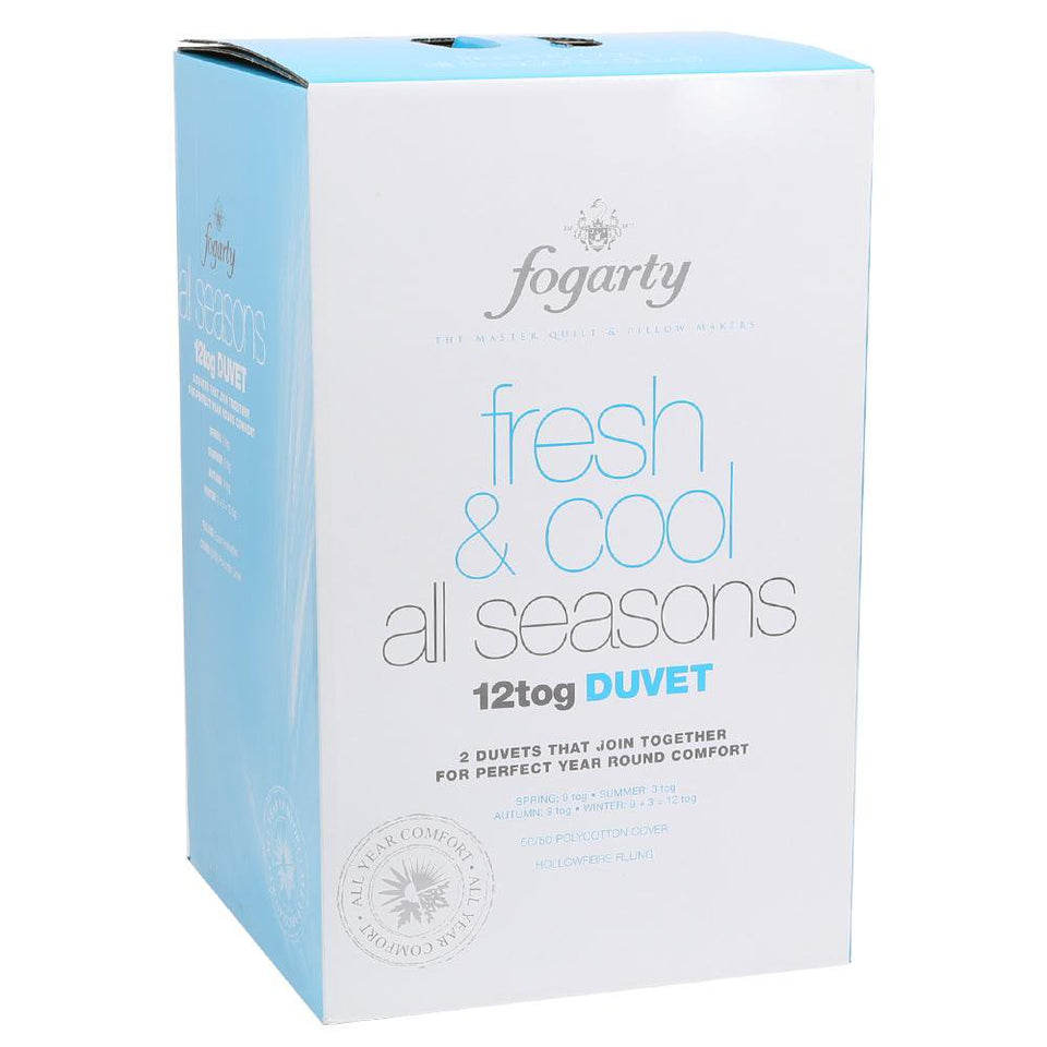Fogarty All Seasons 2 Duvet Quilts - 12.0 Tog - Super King