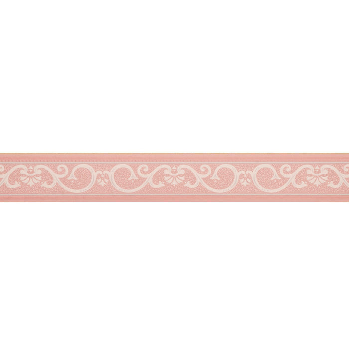 Readyroll Self Adhesive Border - Kyoto Pink/Grey - 61347