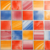 4 x Alkor Self Adhesive Window/Glass Privacy Foil - Mosaic - 1.5m