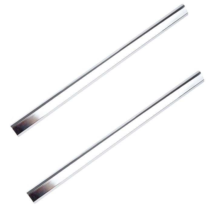 Replacement Bedroom Wardrobe Hanging Rail Tube - Polished Chrome - 476mm or 474mm