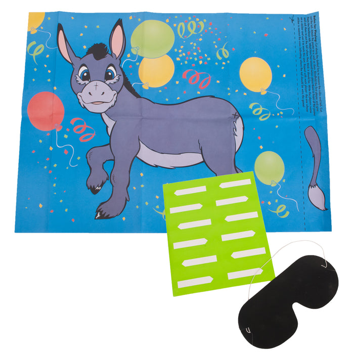 Party Games - Pin The Tail On Donkey