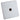 Crabtree Single Co-Axial Plug Socket - Stainless Steel Effect