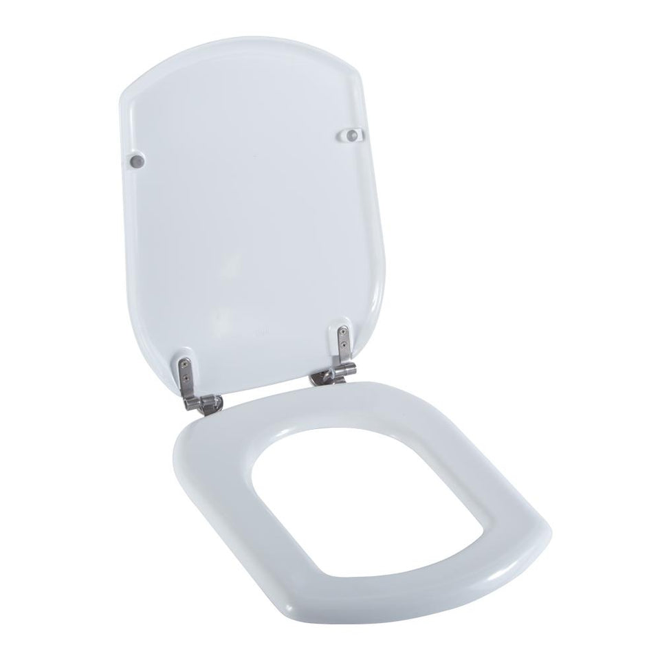 Bathroom Accessories - Toilet Seat Cover Round White