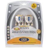 IXOS DVI-D to DVI-D Digital Video Cable XHV458-100 -  HD - 1m