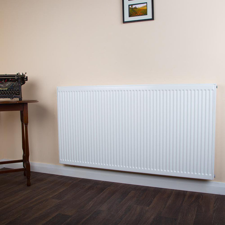 Heating Supplies - Double Type 21 Convector Radiator White - H 400 x W 500mm