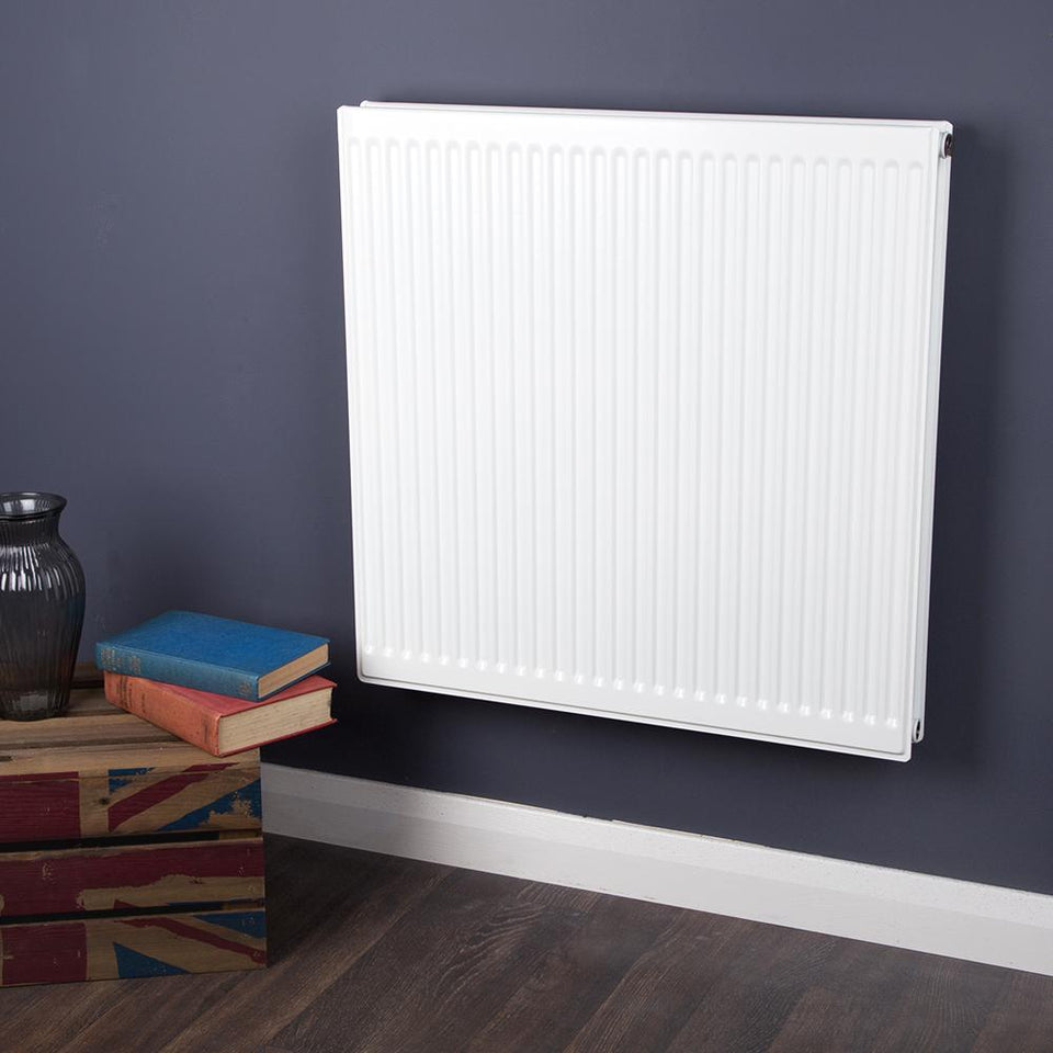 Radiators - Compact Heating Type 20 - White - (H)700 x (W)700mm