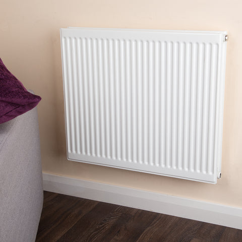 Double Type 21 Radiator White - H 900 x W 900mm