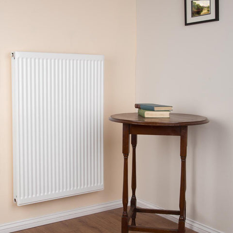 Double Type 22 Radiator White - H 900 x W 600mm