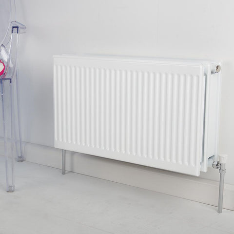 Triple Type 33 Convector Radiator White - H 400 x L 900mm