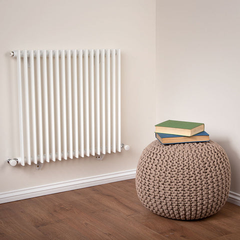 Designer Radiator White - H 600 x W 600mm