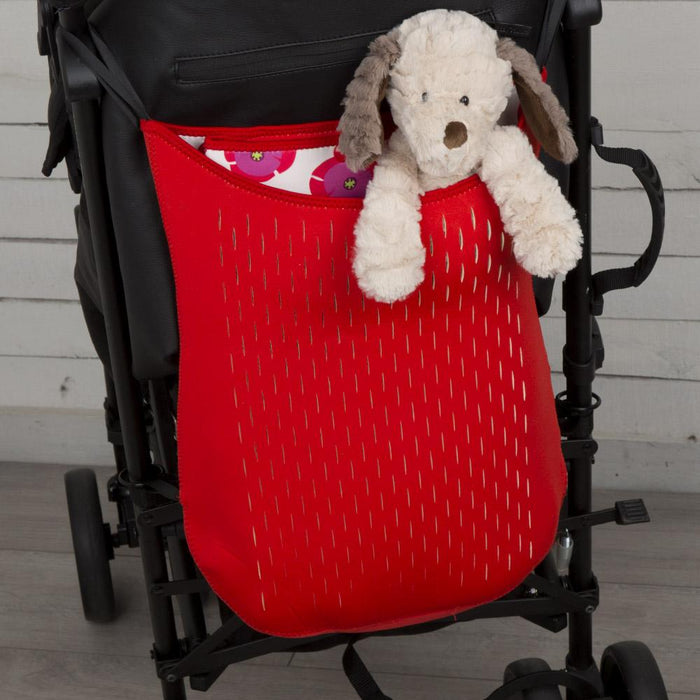 Baby & Child - Reversible Bag For Buggy/Pram/Stroller - Red
