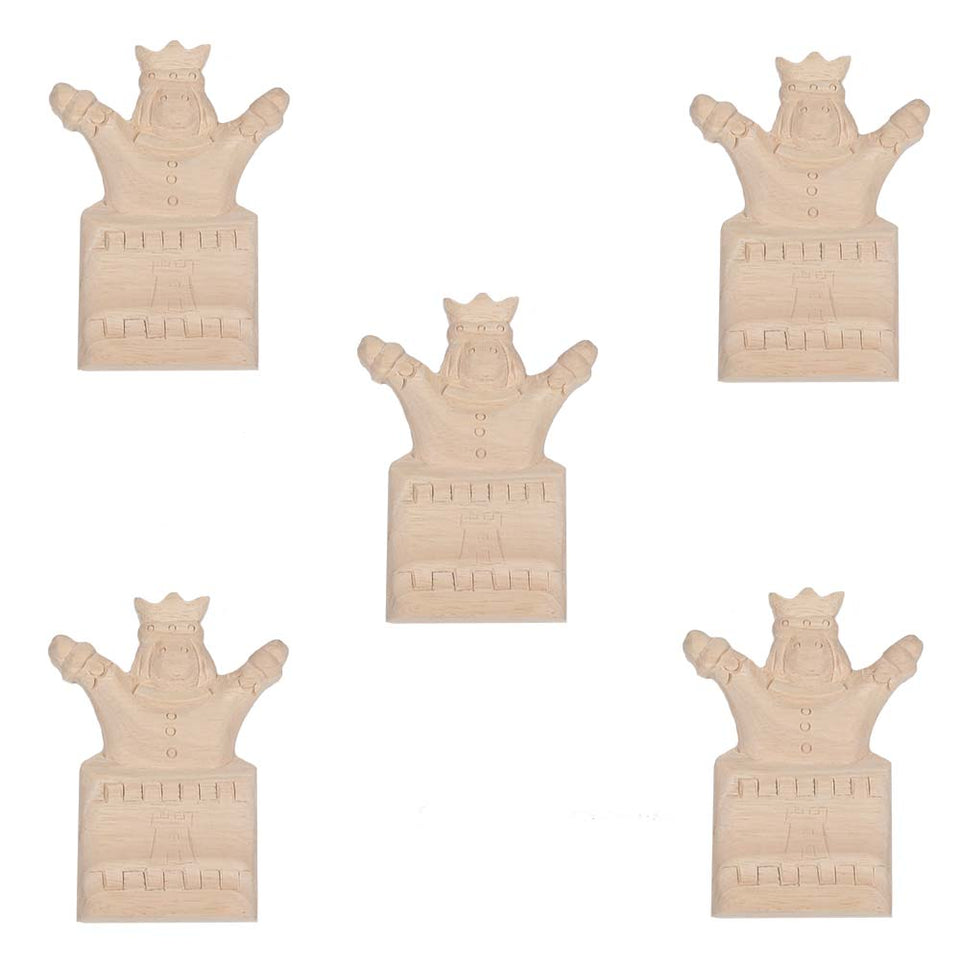 DIY & Tools - Richard Burbidge King & Castle - Pack of 5