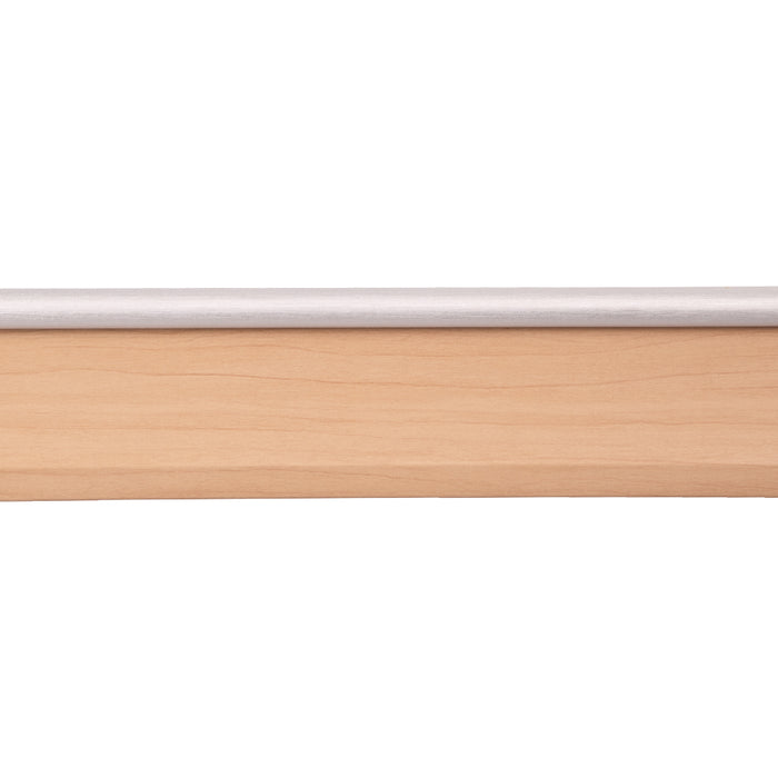Modern Style Skirting Board - Maple Silver Top 2.4 meters