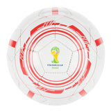 Official England Football - 2014 Fifa World Cup Ball - White & Red - Size 5