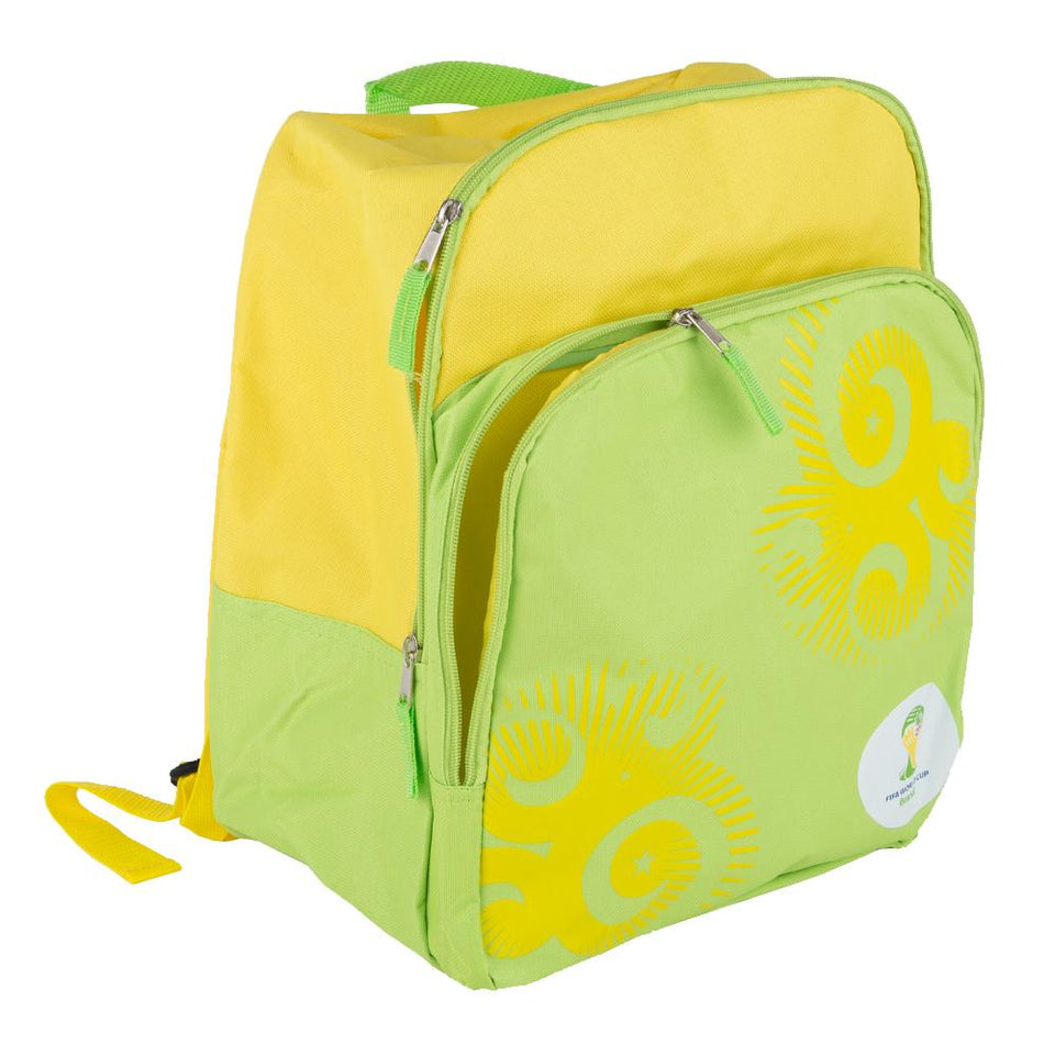 Sports - 2014 Fifa World Cup Brasil Backpack Yellow & Green